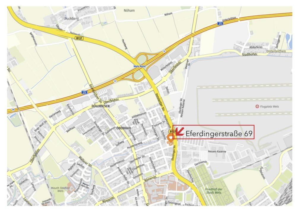 Anfahrtkarte Riola.at