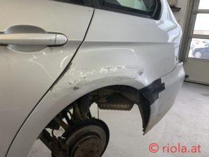 BMW SW Richtarbeit