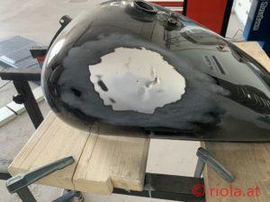 Harley Tank Reparatur